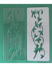 3D stencil 80x195x1 mm ST1007