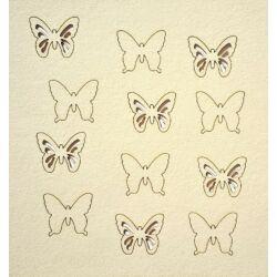 Pillangók 110x115 mm táblán