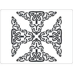 3D stencil 145x195x1 mm ST2048 kelta minta