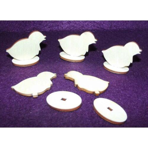 Álló mini húsvéti figurák többféle változatban és méretben