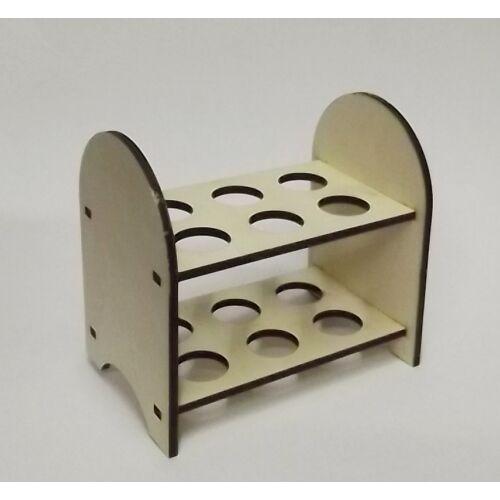 Tojástartó 2 emeletes 12 db tojáshoz 180x130x180x6 mm