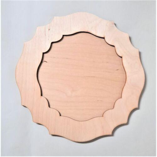 Képkeret cakkos kör formájú több méretben